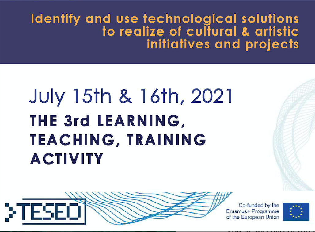 Learning, Teaching, Training Activity 15-16 July